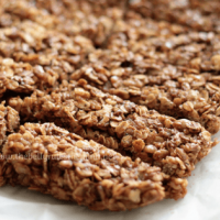 homemade no bake cereal bar in 10 minutes