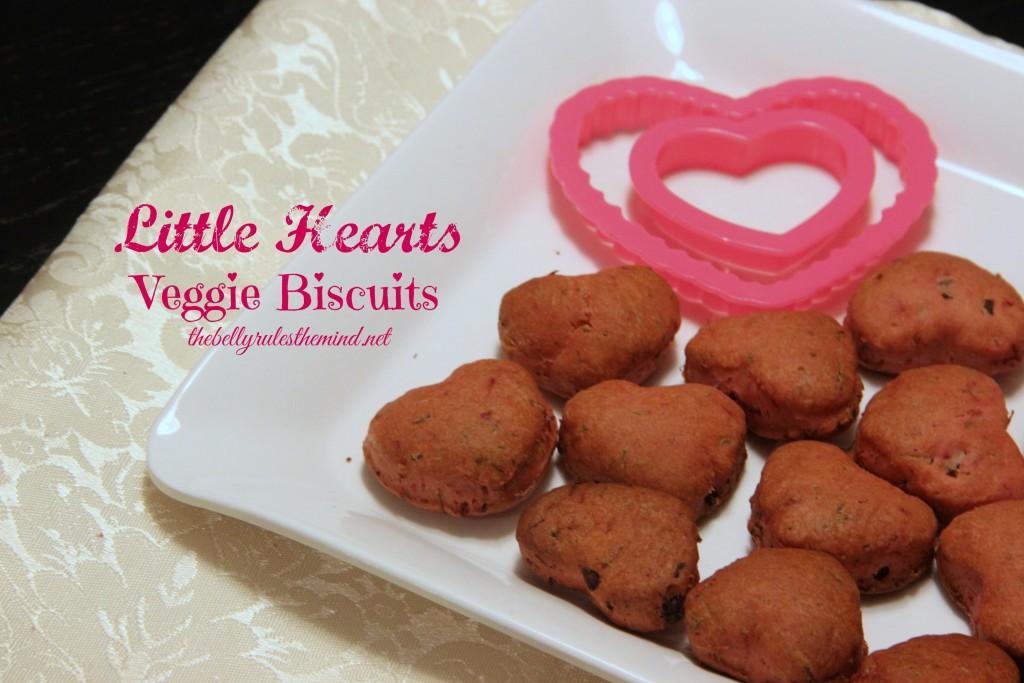 Little Hearts Veggie Biscuits