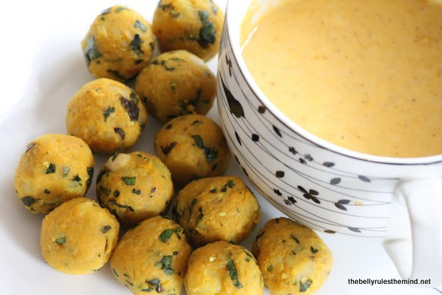 Guilt free Batata Vada in Appe Pan