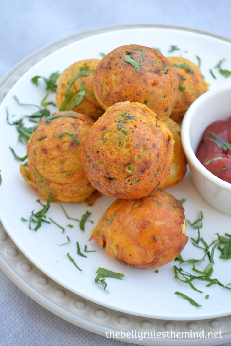 Egg pakoda-fritters ( made in appe pan) (1)
