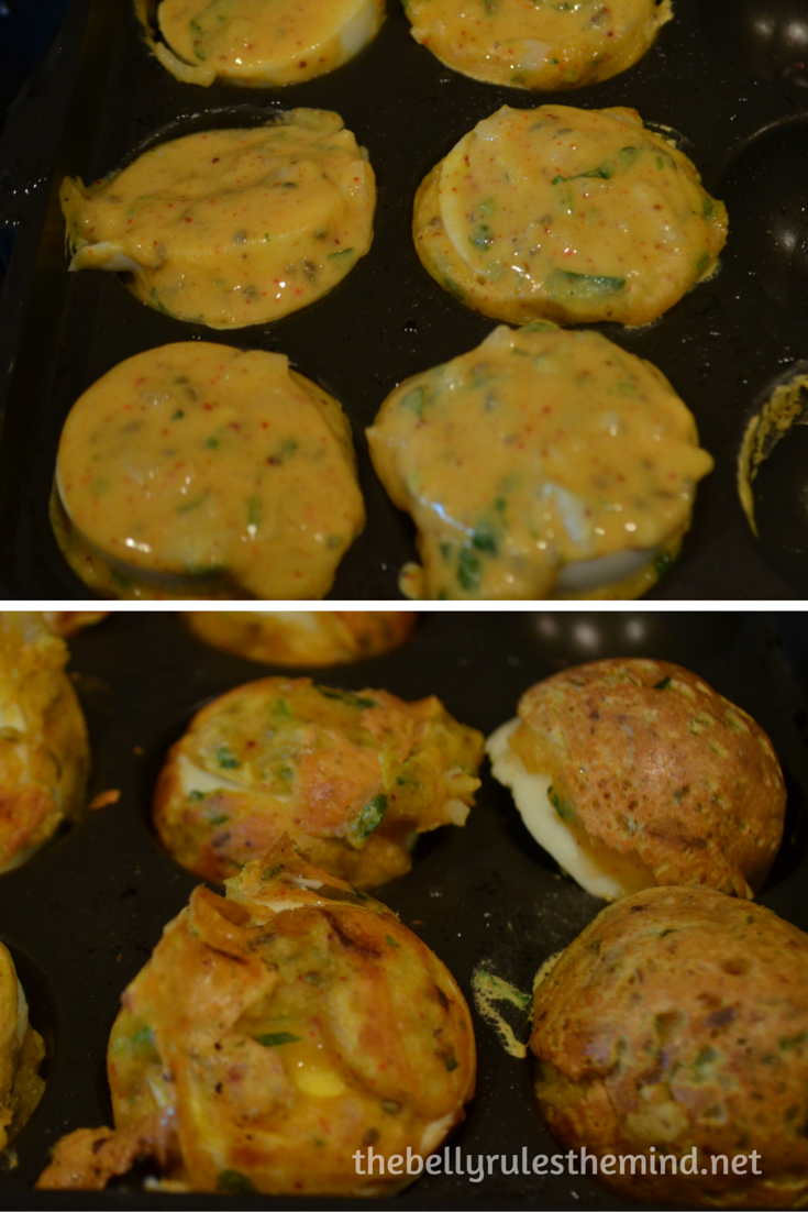 Egg pakoda-fritters ( made in appe pan) (4)