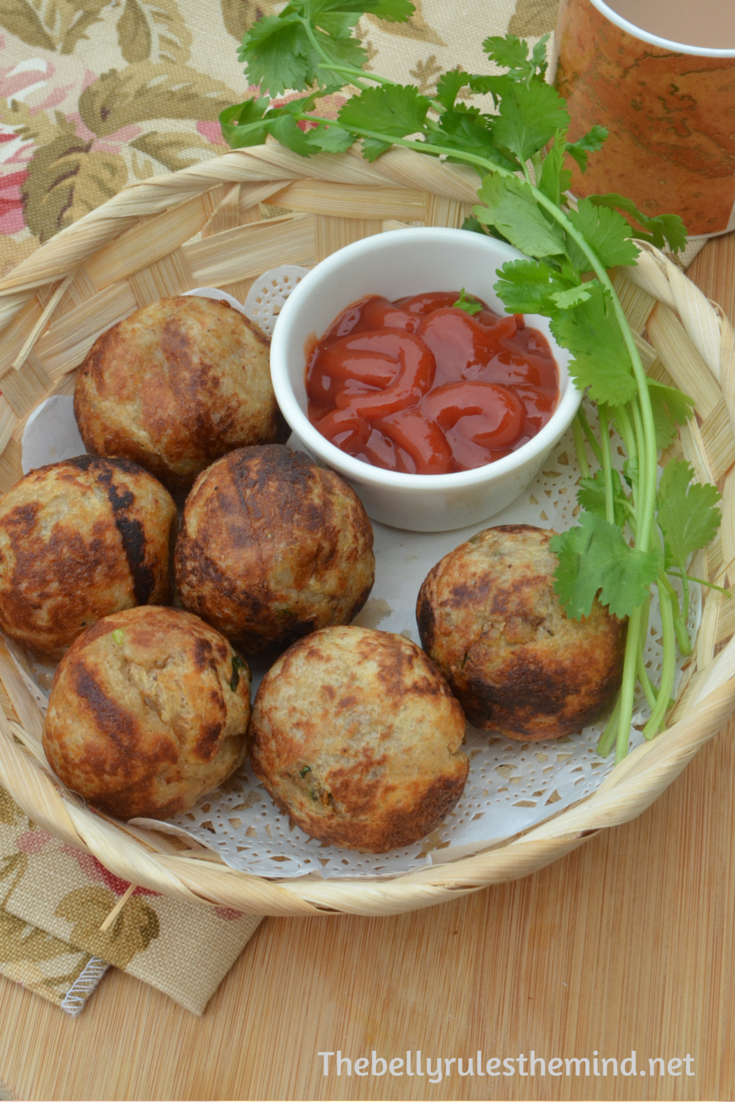Bread roll made in appe pan