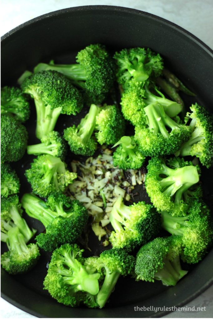Broccoli Tempering