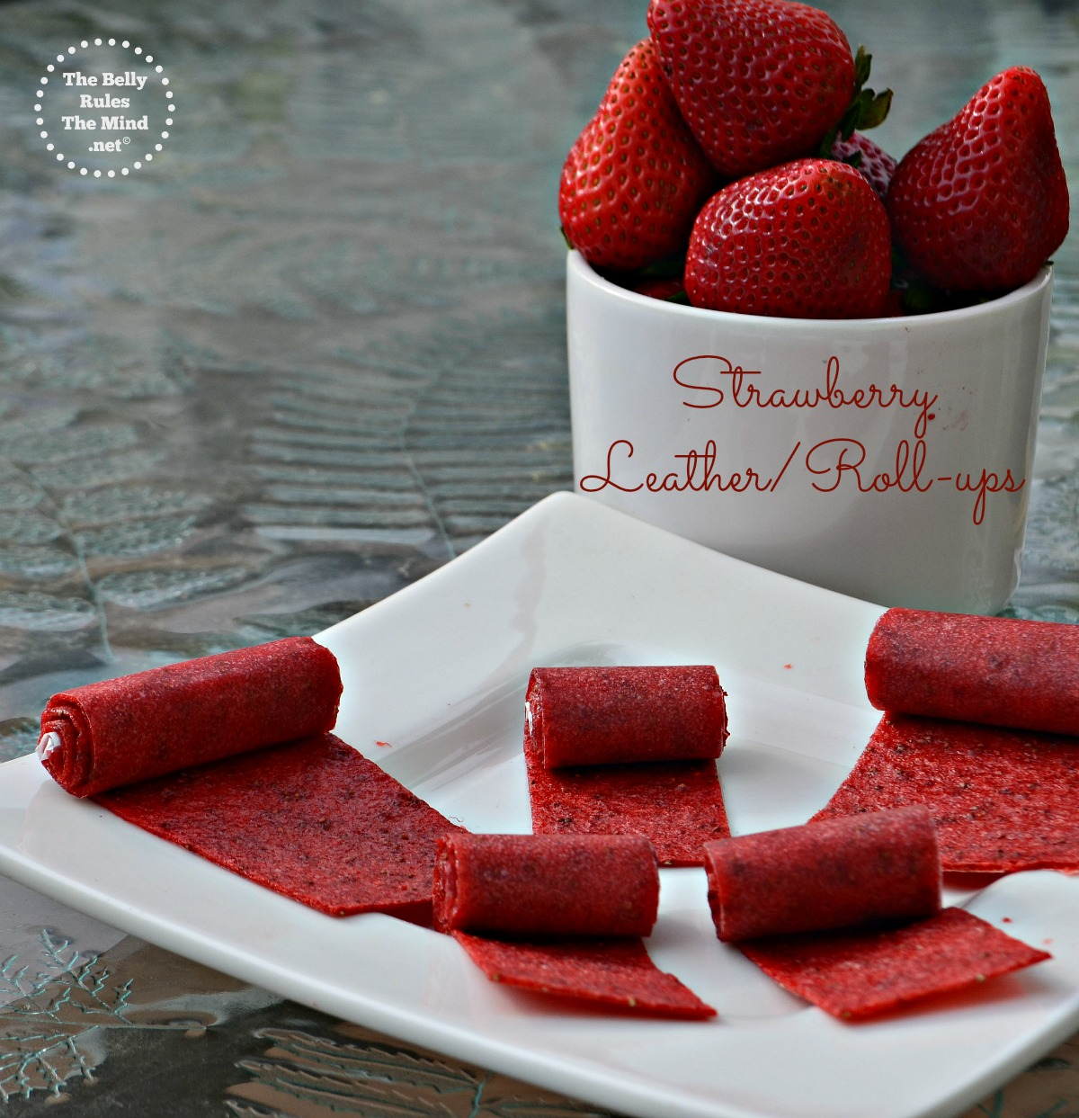 Strawberry leather/roll-ups