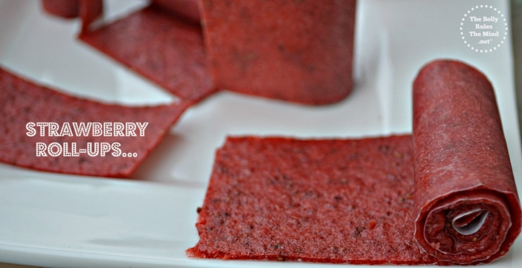 Strawberry leather or roll-ups | The Belly Rules The Mind