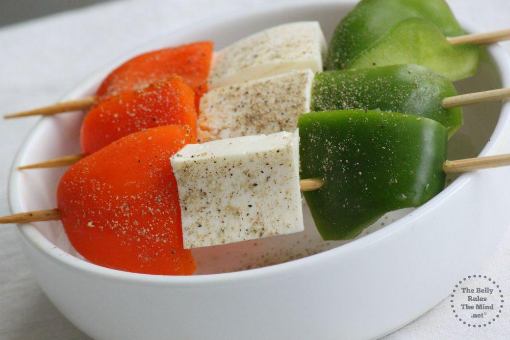 Tirange Salad Skewers