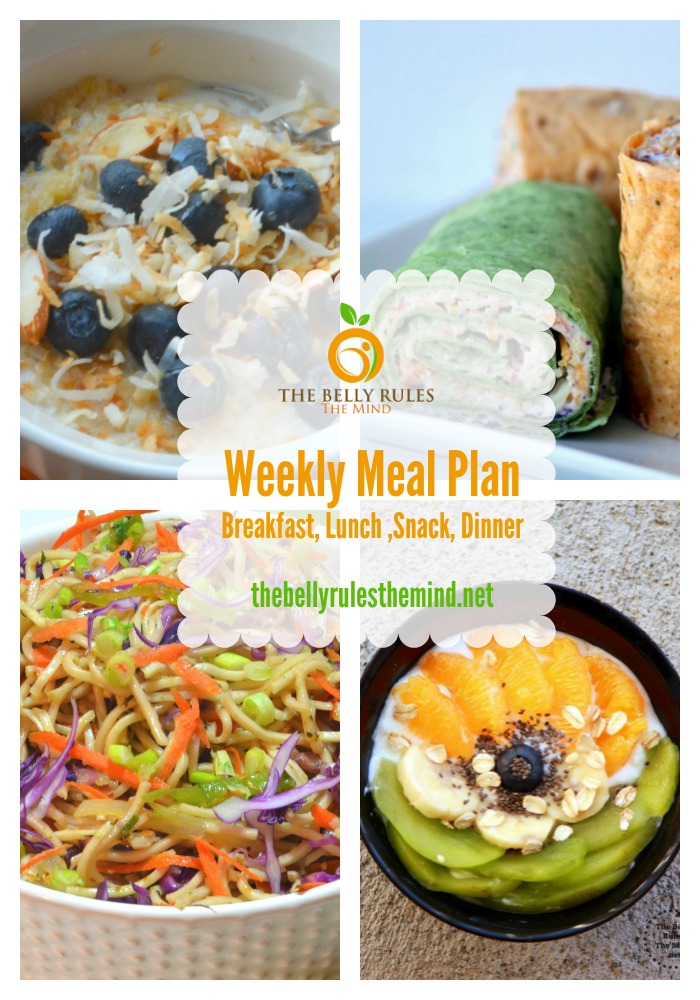 Weekly Meal Plan Pin