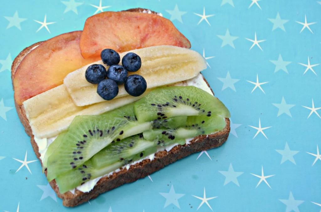 Healthy Tiranga Toast