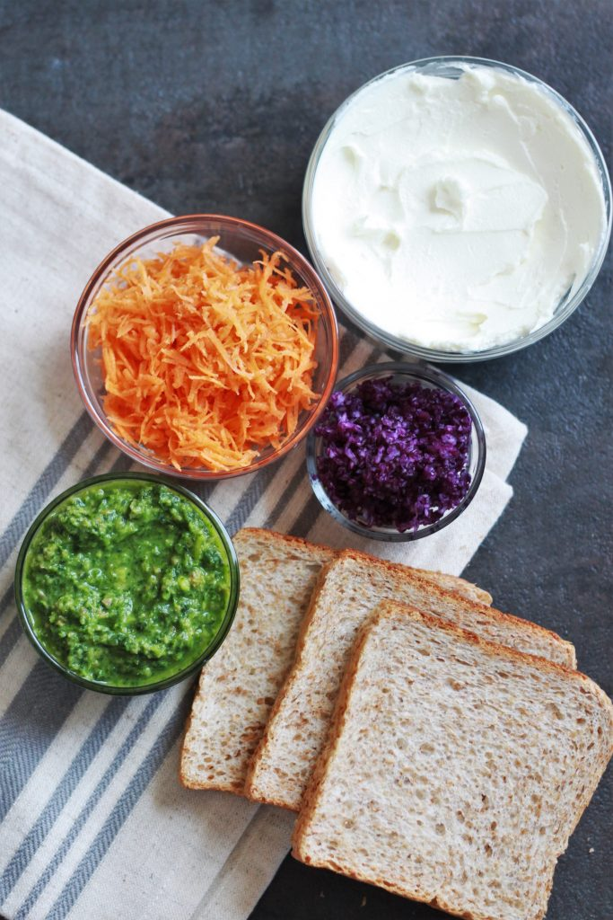 ingredients for a sandwich