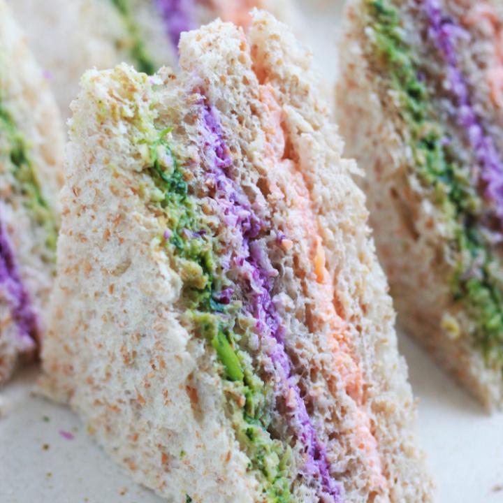 Easy Vegetarian Tea Sandwich Recipe