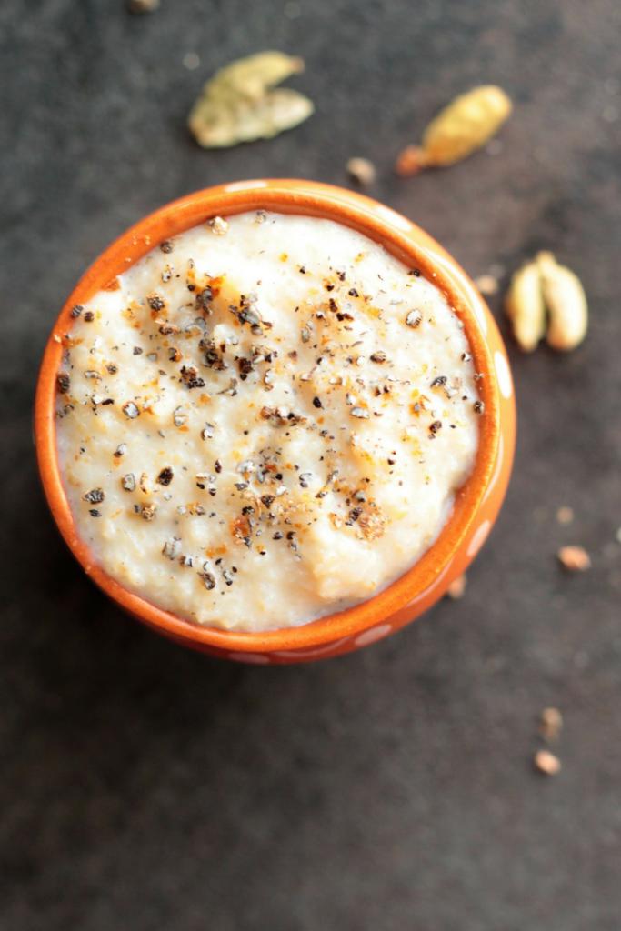 Breakfast Bulgar Pudding Daliya Phirni 5