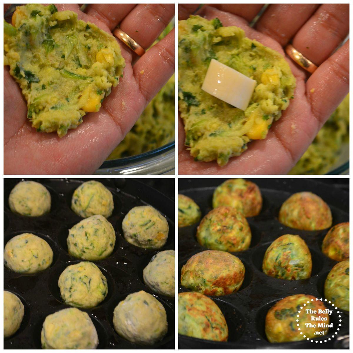 Zucchini tots steps 2