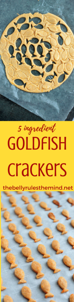 Why you need to ditch the store bought Goldfish cracker and make your own. This 5 ingredient recipe is kid approved an an absolute hit. #goldfish #cracker #recipe #homemade #healthy #snack #kidapproved #kidfriendly @bellyrulesdmind https://www.thebellyrulesthemind.net