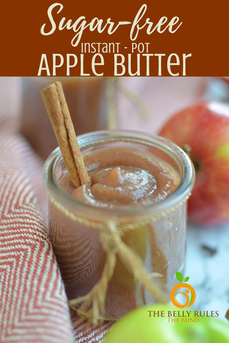 instant pot easy homemade apple butter