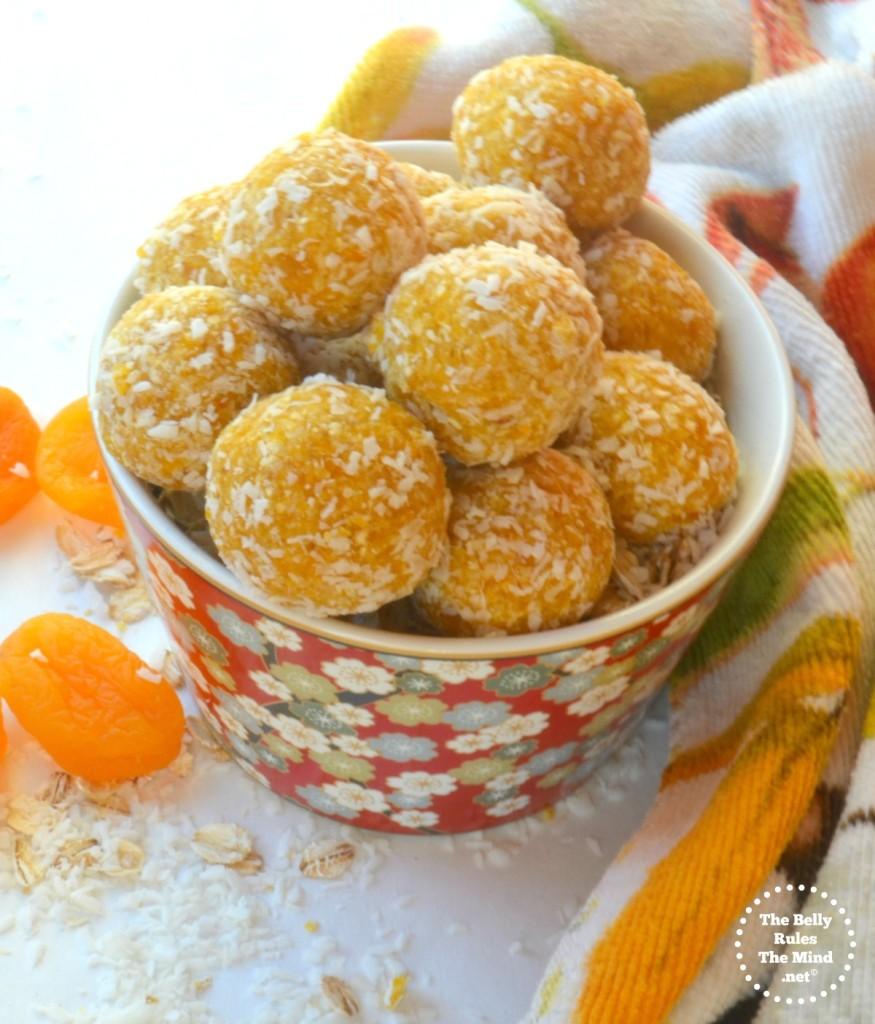 apricot energy bites