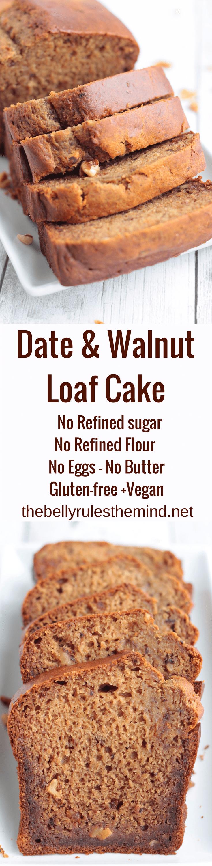 Date and Walnut Cake