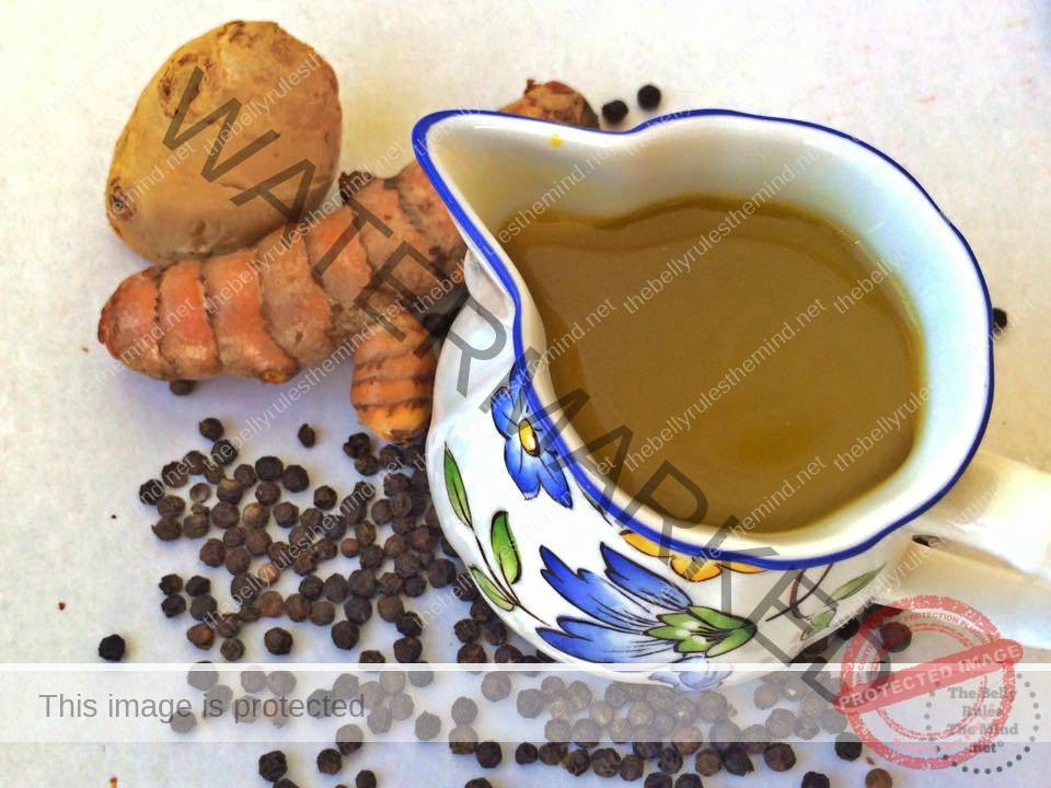 Turmeric Ginger Elixir – Homemade Remedy for Cold & Cough