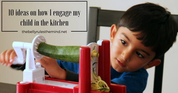 10 ideas on How to engage children in kitchen