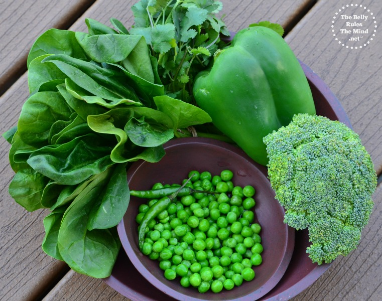 mean green veggies