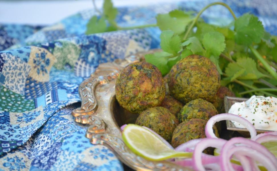 No-Fry Hara Bhara Kebab / Green Vegetable Patty