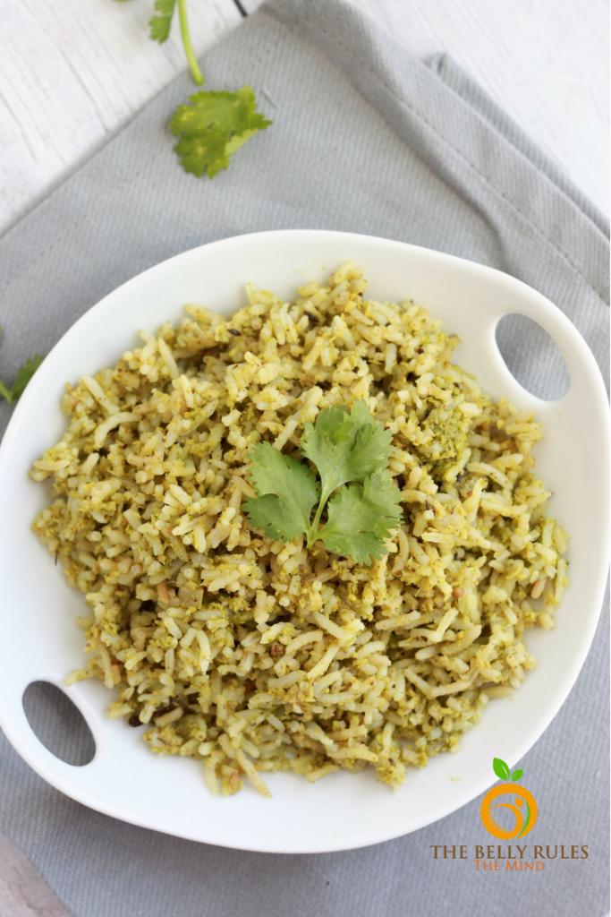 Vegan Coconut Cilantro Rice