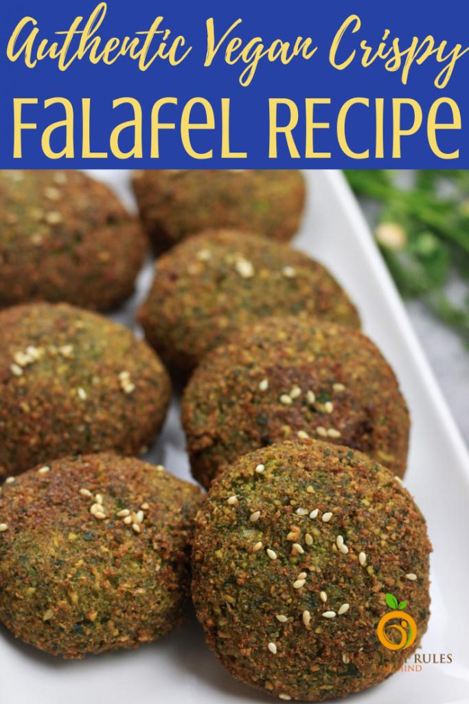 Falafel Recipe 3 ways