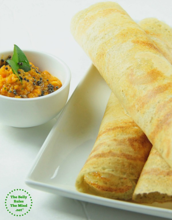 Mix dal, Daliya & Oats dosa