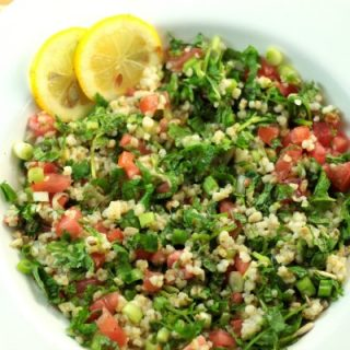 Tabbouleh by The Belly Rules The Mind dot net