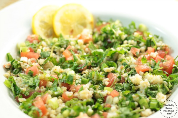Tabbouleh Salad Recipe by The Belly Rules The Mind