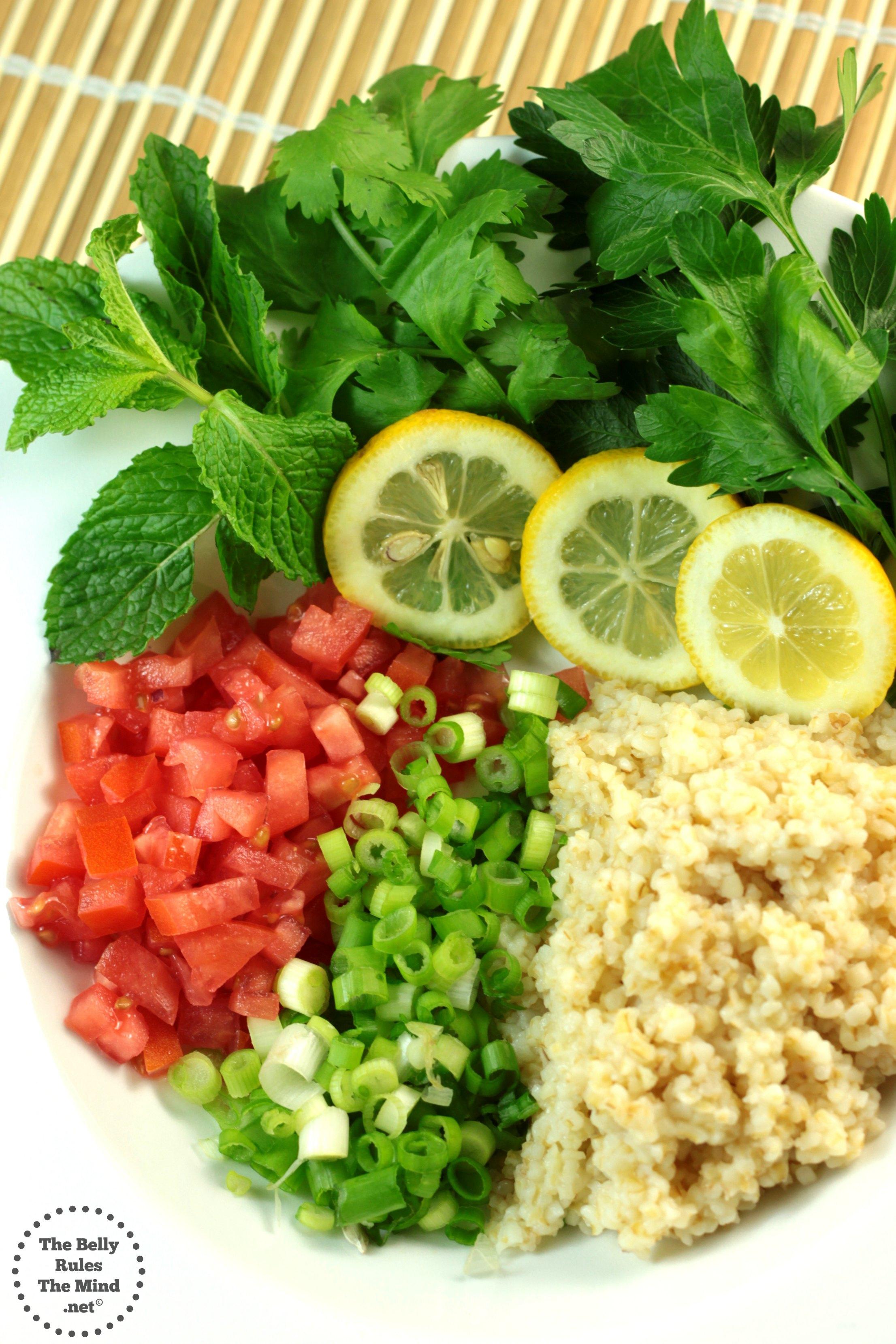Tabouleh Ingredients