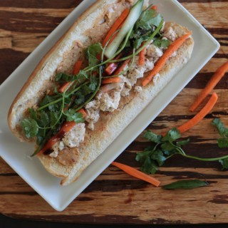 Bahn Mi Sandwich with Lemongrass Tofu