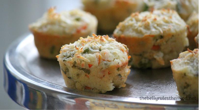 savory semolina muffins