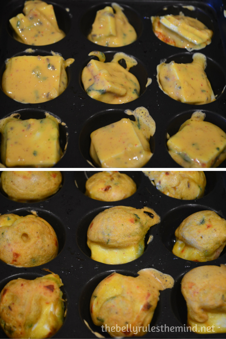 Stuffed Paneer pakoda- ( made in appe pan) (5)
