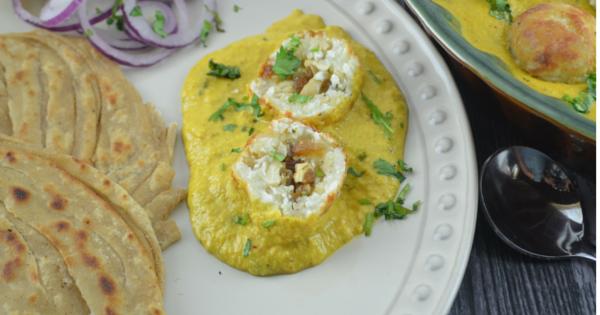 No-Fry Shahi Malai Kofta Curry