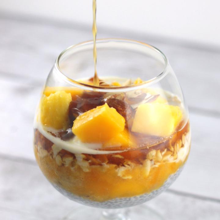 Overnight Oats Chia Pudding