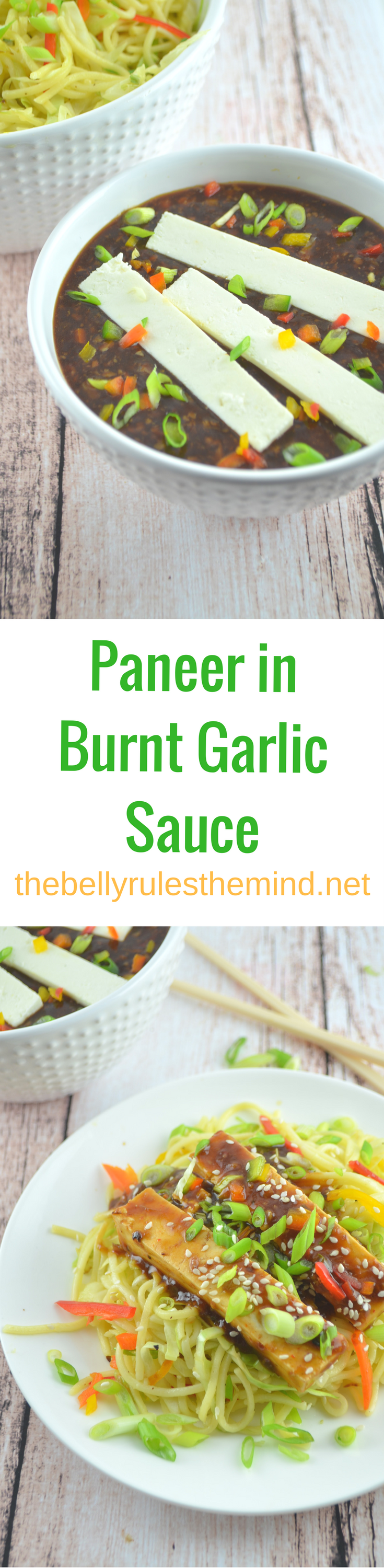 Paneer in Burnt garlic sauce (2)