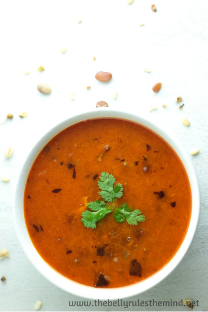 16 bean spicy soup kolhapuri usal