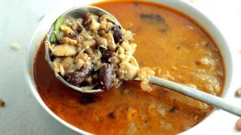 Pressure Cooker 16 Bean Kolhapuri Usal