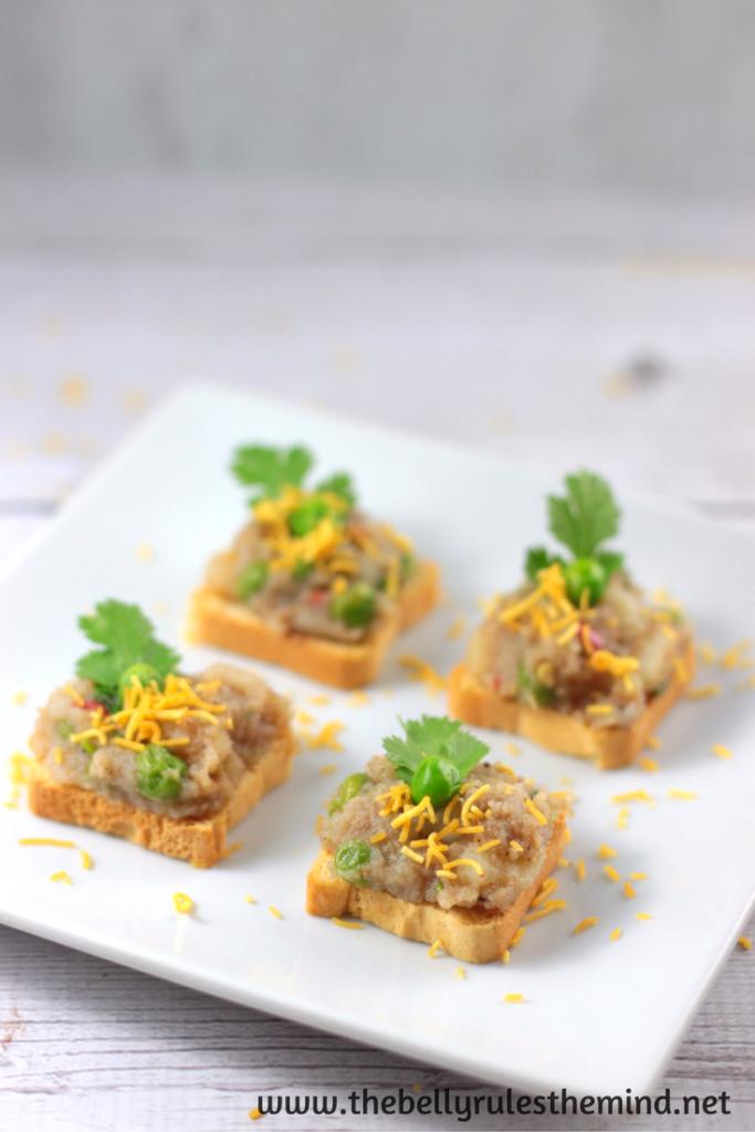 Samosa Chaat Snack / Appetizer