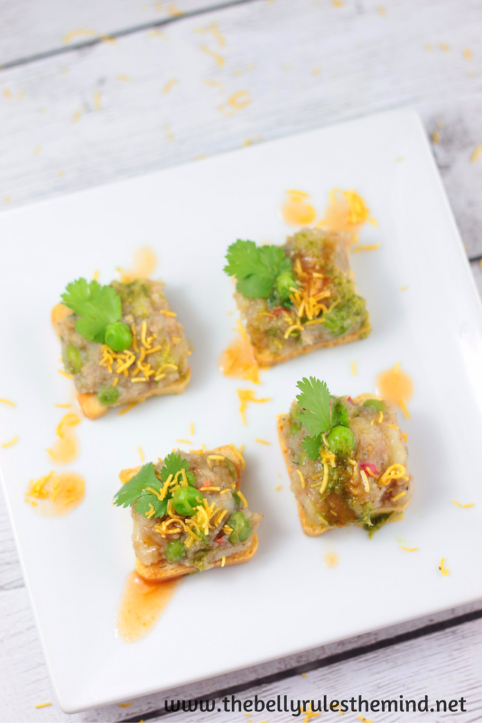 Samosa Chaat Snack Appetizer