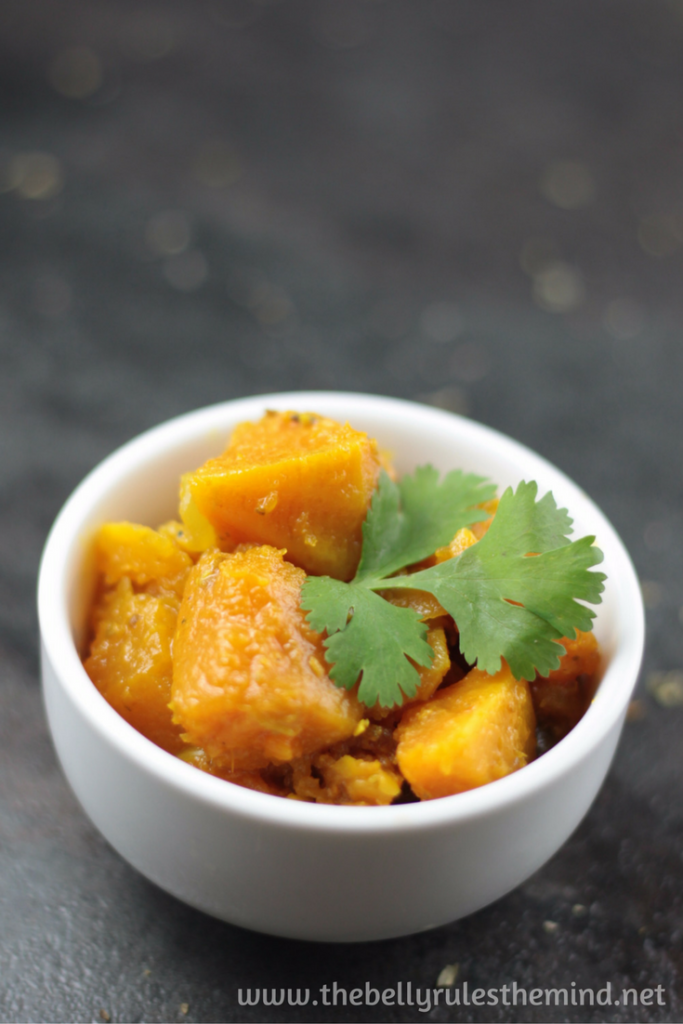 Indian style Pumpkin recipe