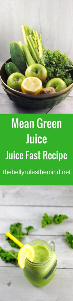 joe cross's mean green juice reciipe