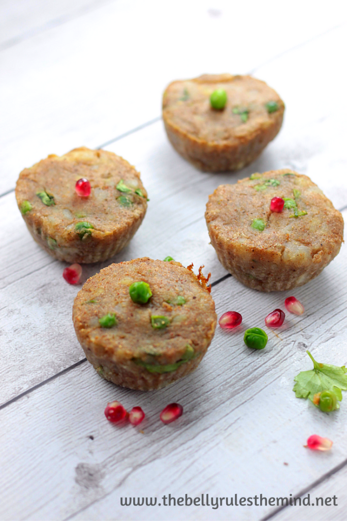 Breakfast Snack Chaat Muffin