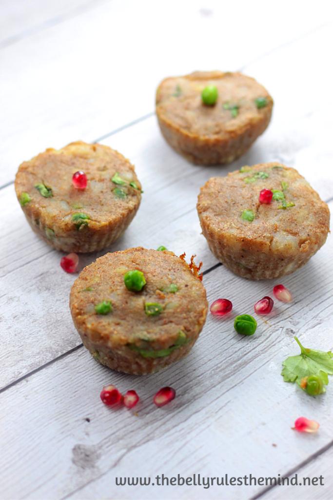 Breakfast Snack Chaat Muffin