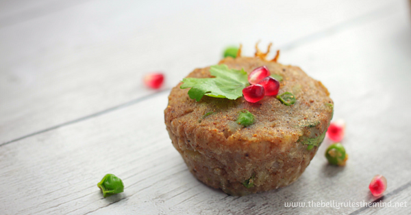 Samosa Breakfast Snack Chaat Muffin