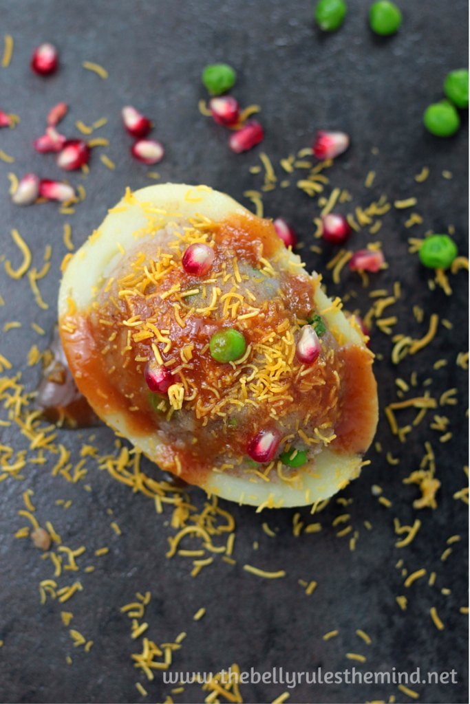 Aloo Chat Dabeli Kulle Chat Loaded Potato Skins