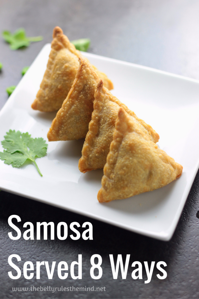 How to wrap a Samosa / Samosa Wrapping Idea