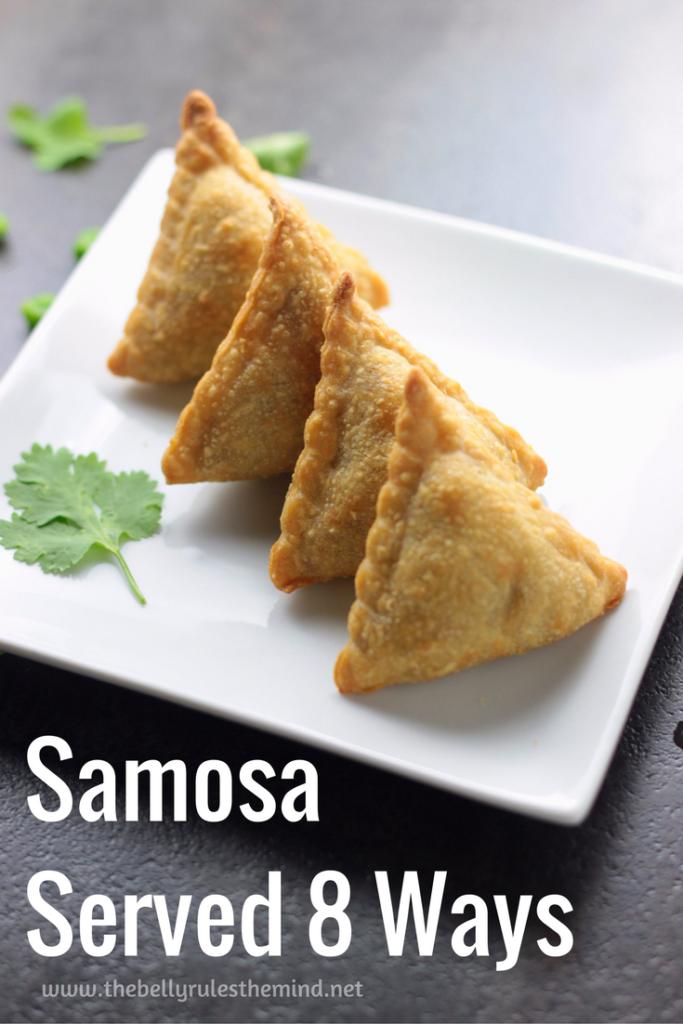 How to wrap a Samosa / Samosa Wrapping Idea