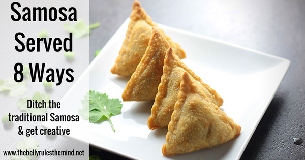 How to serve or wrap a Samosa