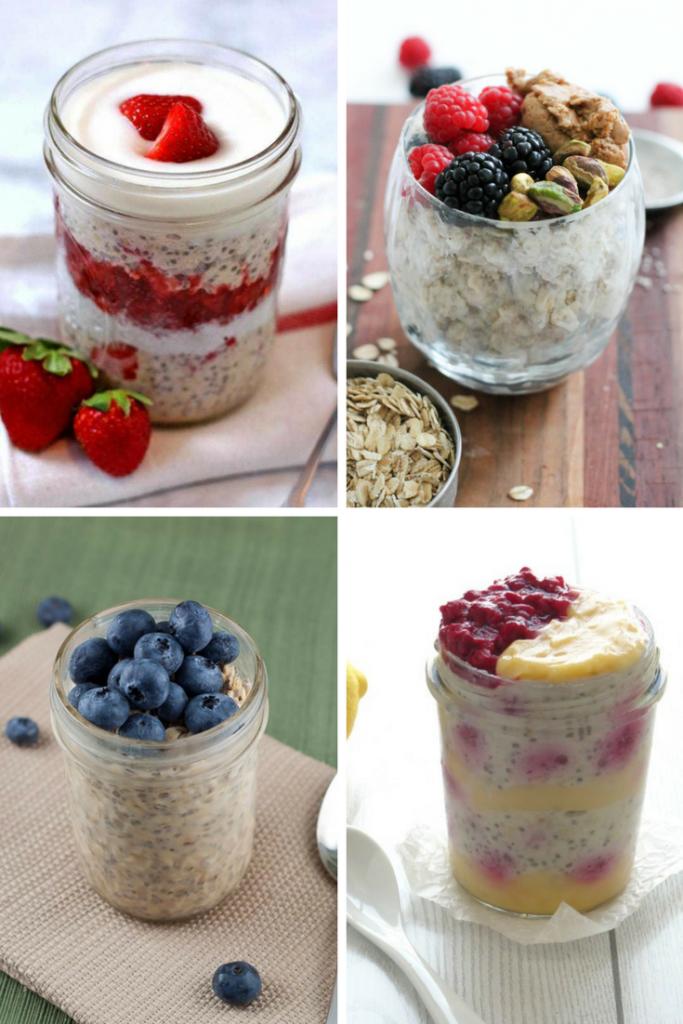 Healthy, No-Cook, Make-Ahead Overnight Oats